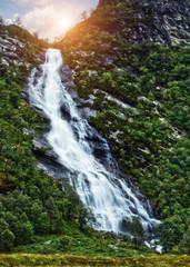 waterfall glen nevis