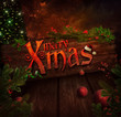 Christmas design - Xmas sign