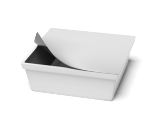 White container