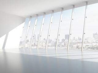 Hall with windows