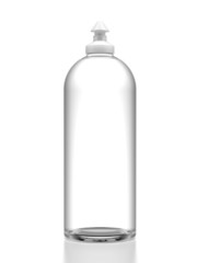 Bottle with dishwashing liquid