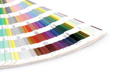 Pantone sample colors catalogue