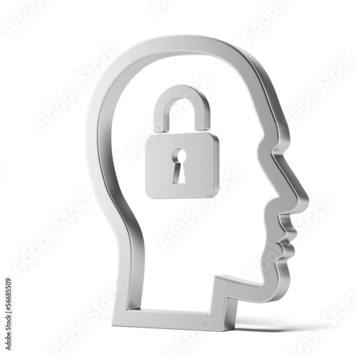 lock inside head