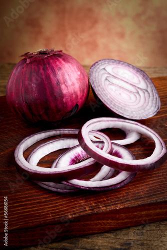 anelli di cipolla rossa -  red onions