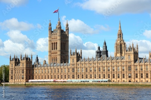 London, UK - Houses of Parliament