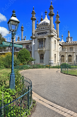 The Royal Pavilion in Brighton, England, United Kingdom (UK)