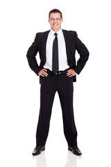 successful businessman portrait