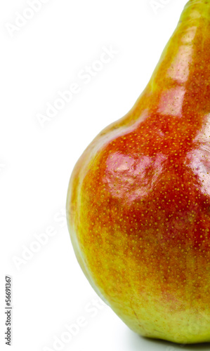 Close-up of fresh sweet pear