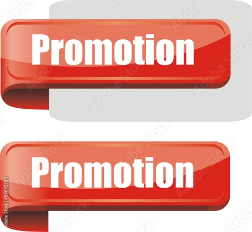 étiquette bordure promotion