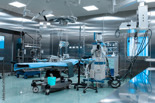 canvas print picture Operating room in cardiac surgery