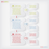 Modern business Infographics template. Vector illustration