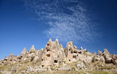 Fairy Chimneys In Cappadocia, Nevsehir, Turkey