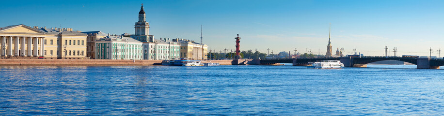 View of Saint Petersburg. Palace Bridge