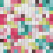 abstract mosaic background, colorful squares