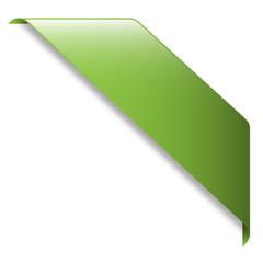 Ruban Publicitaire VERT (tampon bannière banderole panneau)