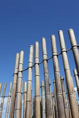 竹材の建物