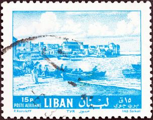 Tyre waterfront (Lebanon 1961)