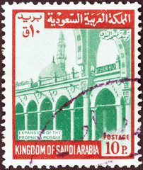Prophet's Mosque Expansion (Saudi Arabia 1968)