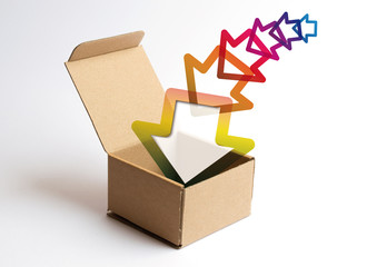 Nella scatola