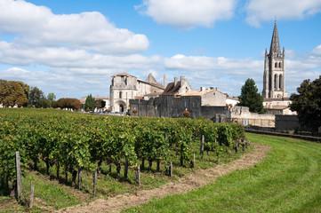 Saint-Emilion, a UNESCO World Heritage Site, France