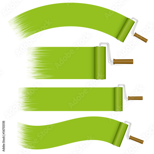 Farbroller Set - grün