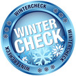 "Button ""Wintercheck"" blau"