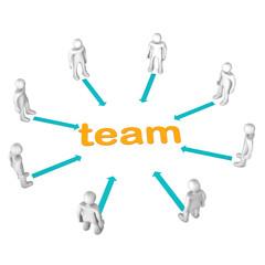 Manikins Teamwork
