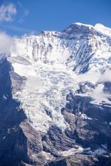 Jungfrau glaciers