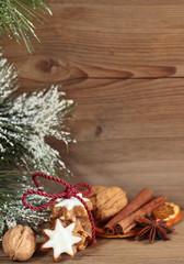 Zimtsterne mit Weihnachtsgewürzen