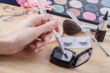 Makeup preparing