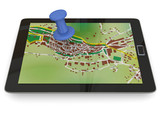 NAVIGATION WITH TABLET - 3D