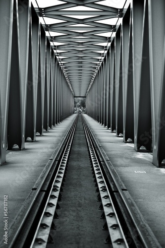 Poster Railroad Bridge