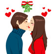 Christmas Mistletoe Kiss