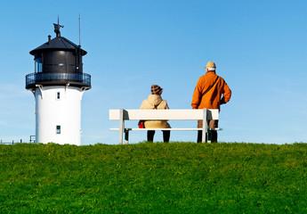 Pause an der Nordseeküste