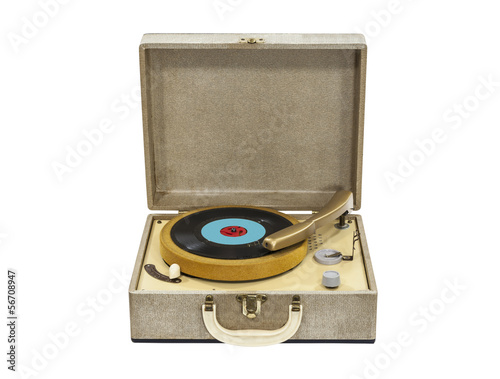 REcord Player Isolated