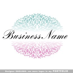 floral logo (ogologo)
