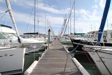 Ponton d'amarrage (Port Olona - Les Sables d'Olonne)
