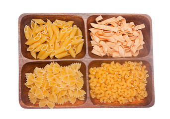 Various sorts of pasta