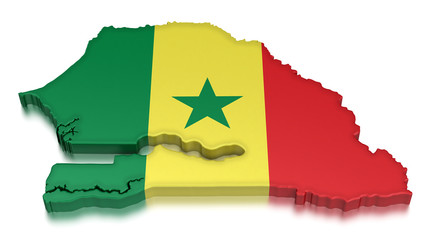 Senegal (clipping path included)