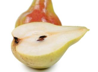 Halved pear