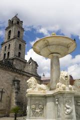 Fountain in Old Havana