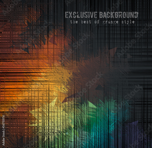 abstract grunge background for your hipster cover