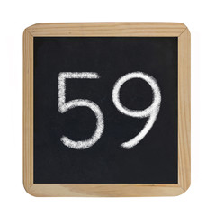 the number 59