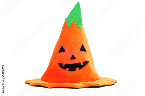 Halloween pumpkin hat