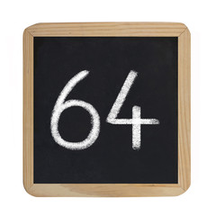 the number 64