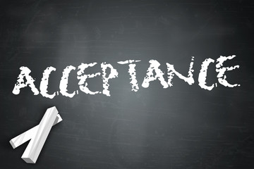 """Blackboard """"Acceptance"""""""