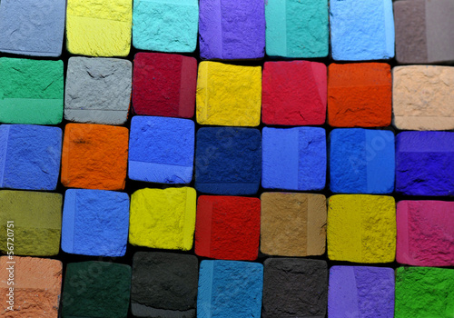 pastel chalk background © Taboga