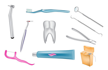 dental vector illustrations