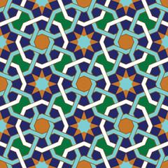 Abadan Seamless Pattern Three