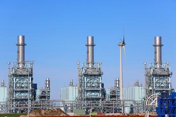 Gas-Kombikraftwerk